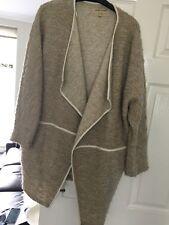 River Island Kimono Wrap Poncho Coat Jacket Size 14-16