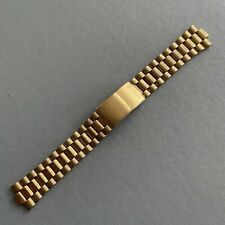 Original Vintage SEIKO Stainless Steel / Yellow Tone Watch Bracelet.
