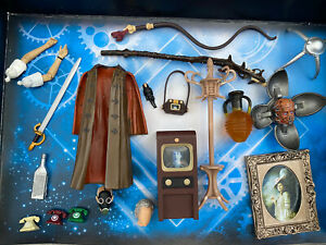 CLASSIC MINT DOCTOR WHO ACTION FIGURE SPARES AND ACCESSORIES JOB LOT BUNDLE