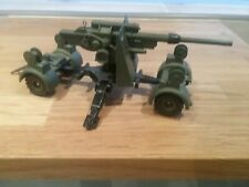 Vintage Dinky Toys 656, 88mm German Mobile Gun and Trailer