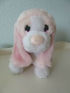 Vintage Russ Baby Baxter PINK Bashful Basset Hound Dog Plush Stuffed Animal Toy