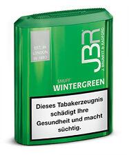 JBR Wintergreen Snuff, 10g / 10er (Tabak,Schnupftabak)