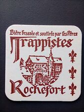 SOUS BOCK BIÈRE TRAPPISTES ROCHEFORT