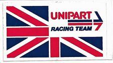 Large Rare Original Unipart Racing Motorsport F1 Seventies Sticker