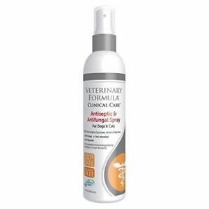Antiseptic & Antifungal Pet Medicated Spray For skin infections Dogs & Cats 8oz