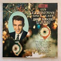 Jimmie Rodgers - It's Christmas Once Again - vintage OG 1959 Roulette vinyl LP