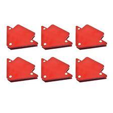 6pk 25lb 75mm Welding Magnet Arrows Welder Holder Support Durable Angles
