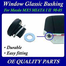 Upgrade Pair Door Window Glass Bushing kits set For Mazda Mx5 Mx-5 Miata