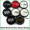 4 x 51mm Radmitte ENKEI Emotion Work Advan Racing Volk Rays Rennwagen