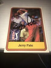 Jerry Pate   Signed 1981 Golf Card