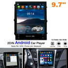 Double Din Car Stereo 9.7 inch Android Car Radio Vertical Display with GPS+WiFi