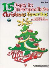 Chr. DeSantis: 15 easy to intermediate Christmas Favorites, para Alt-saxofón