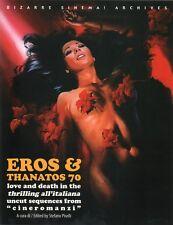 EROS & THANATOS 70- con EDWIGE FENECH ed. GLITTERING  SCONTATO!!!