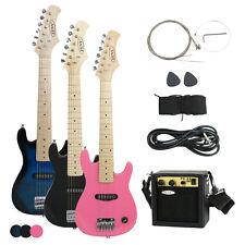 "30/39"" Electric Guitar Kids +5/10 Watt Amp +Gig Bag Case +Guitar Strap Beginners"