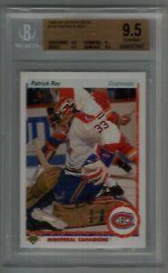 1990-91 Upper Deck Patrick Roy BGS 9.5