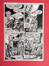NEW LISTINGRAMPAGING HULK 12 PAGE 21 BY RON WILSON AND ERNIE CHAN CLASIC 1978 PAGE Comic Art