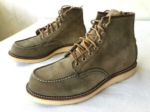 'Red Wing 8139' Sage Mohave MocToe Mens  Shoes Sz US8.5 D