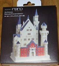Schloss Neuschwanstein Castle Paper Nano Intricate Laser Cut Paper Model PN-104