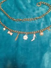 Kate Spade Paris Charm Chain Belt small medium