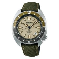 Seiko Prospex Turtle Green Land Tortoise 200M Polyester Strap Watch SRPG13K1