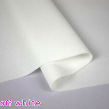"white stretchy spandex Fabric knitted fabric bikini suit Skirt fabric 60"" BTY"