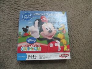 Mickey Mouse Clubhouse Letters And Numbers Game by Playskool