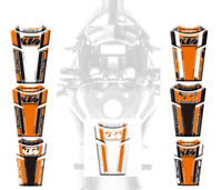 3D Gas Fuel Protector Tank Traction Pads Sticker For KTM 1290 Super Adventure S