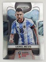 2018 Panini Prizm World Cup Lionel Messi Base Prizm Card