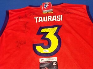 WNBA DIANA TAURASI MERCURY AUTOGRAPHED JERSEY NEW WITH TAGS  JSA AUTHENTICATION