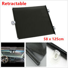 2X Retractable Summer Car SUV Auto Window Glass Sun Shade Cover Blind Visor Cool