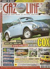 GAZOLINE 193 CITROEN GS LANCIA AURELIA GIARDINETTA VW COX CABRIOLET FIAT 132