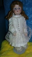 MARQUE BISQUE FRENCH DOLL All Jointed All Bisque Reproduction STUNNING