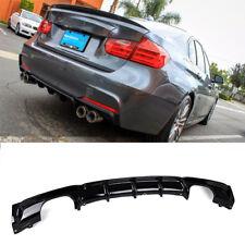 For BMW F30 FRP Rear Bumper Diffuser Lip 325i 335i M-Tech M-Sport 2012-2017