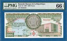 Burundi, 5000 Francs, 1997, Gem UNC-PMG66EPQ, P40