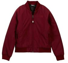 The North Face Girls Rydell Insulated Bomber Jacket ZINFANDEL Red Size M 10 / 12