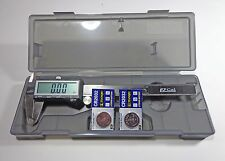 "6"" Electronic Digital Fractional LCD Caliper Stainless iGaging"