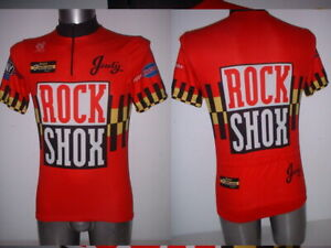Rock Shox Judy Shirt Jersey Adult M Vintage Cycling Cycle Ciclismo Mountain Bike