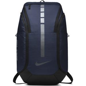 Nike Hoops Elite Pro Basketball Backpack Midnight Navy Black Silver BA5554-410