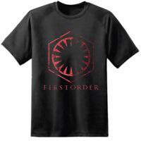 Star Wars Rogue One Episode VII 7 8 First Order Distressed Logo T Shirt