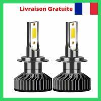 2X H7 LED Phare de Voiture Ampoule Headlight 6500K 72W 10000LM Xénon Blanc Beam