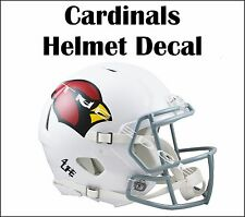 "Arizona Cardinals 5""x6"" Auto Car Truck Window Wall Vinyl Stickers Helmet Decals"