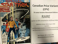 Star Trek (1986) # 33 (Нм) канадская цена вариант КНД! 20th Anniversary!!!