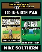 Tee-to-Green Pack by Mike Southern (2017, Paperback, Large Type)