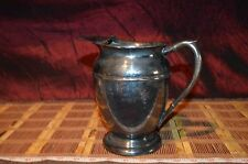 """Vintage Viking Plate E.P Copper Silverplate Water Pitcher 7 5/8""""x7"""""""