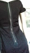 KAREN MILLEN dress Size-10 black