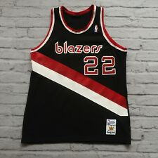 Vintage Portland Trail Blazers Clyde Drexler Jersey by Sand Knit XL Made in USA