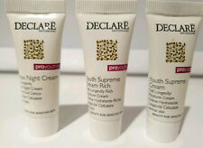 DECLARE pro youthing Detox Night Cream, Youth Supreme & Supreme Rich 5ml tubes