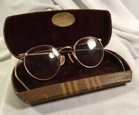 Childrens Ful-Vue 12k GF Wire Rim Glasses Chattanooga Tn Mis-Matched Arms