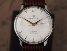 Seiko Super Made in Japan 1960s Manual Hand Winding Mens Dress Watch DSI44