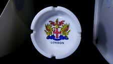 BIG 10.5CM White London DOMINE DIRIGE NOS Ashtrays Souvenir ashtray